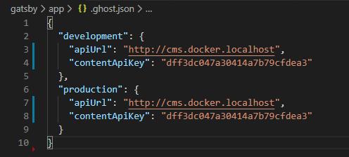 URL's and Key's API