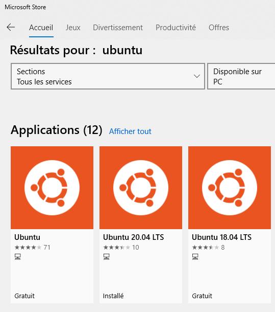 MS store Ubuntu